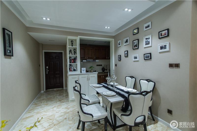 半开放式厨房与玄关鞋柜的巧妙设计更是凝聚了设计师的心血。