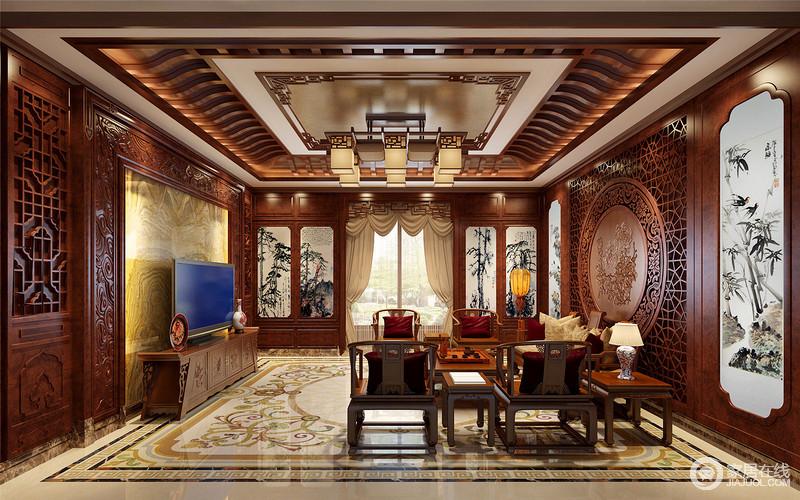 带给主人不尽的舒服触感,和谐是欧式风格的最高境界。门的造型设计,包括房间的门和各种柜门,既要突出凹凸感,又要有优美的弧线,两种造型相映成趣,风情万种。