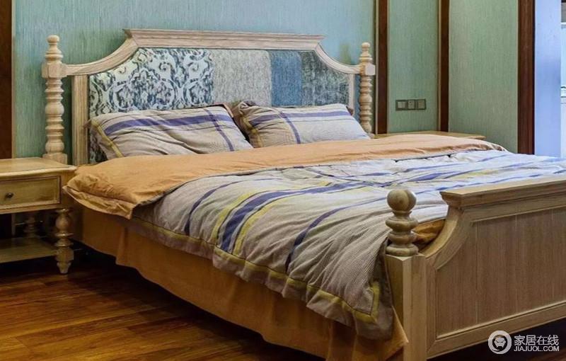 卧室让人卸去一身疲惫,彻底放松身心的休息空间,可以是精致的,可以是温暖的。