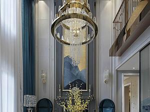 伊丽莎白公元-别墅350平米-地中海风格案例赏析