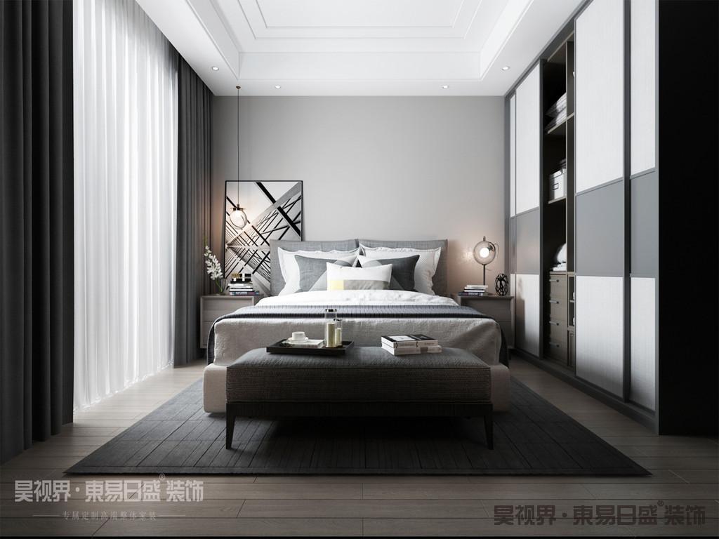 抛弃多余,移除无功能的装饰性元素,让视觉上更加清新,也让空间感上更加舒适。