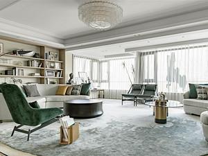 长河花园90㎡三居室现代风格