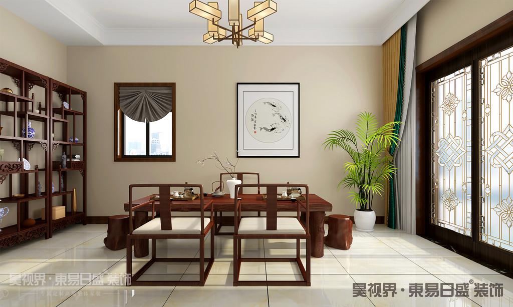 典雅、极具艺术气息的茶室也是不能缺少的。灯光设置以暖色系为主,强调居室格调优雅而浪漫。