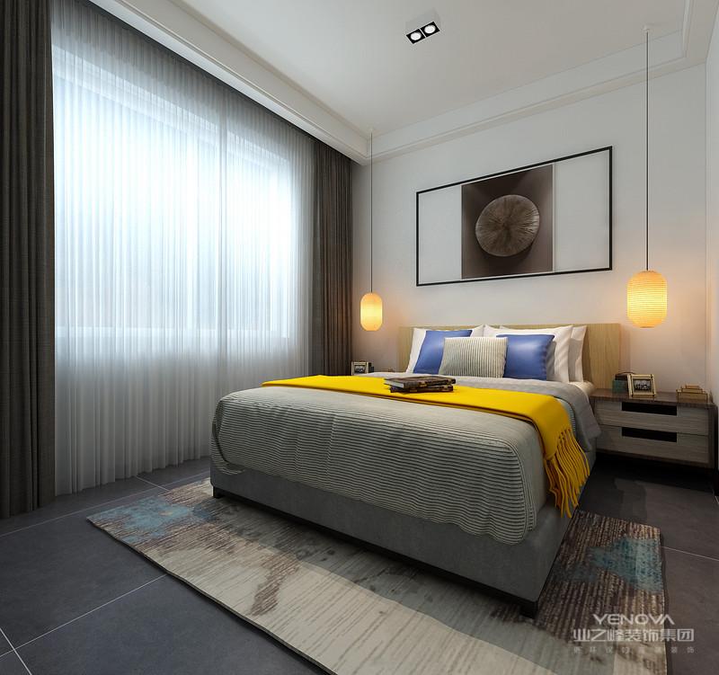 室内多采用对称式的布局方式,格调高雅,造型朴素优美,色彩浓厚而成熟