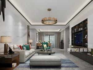 亲和家源-三居室123平米-新中式风格案例赏析