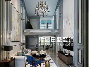 海博长安府-复式270㎡-现代轻奢风格案例赏析