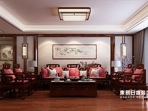 浮来春公馆-四室230平米-中式装修风格案例赏析