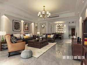 汀香郡-三居室165平米-美式风格案例赏析