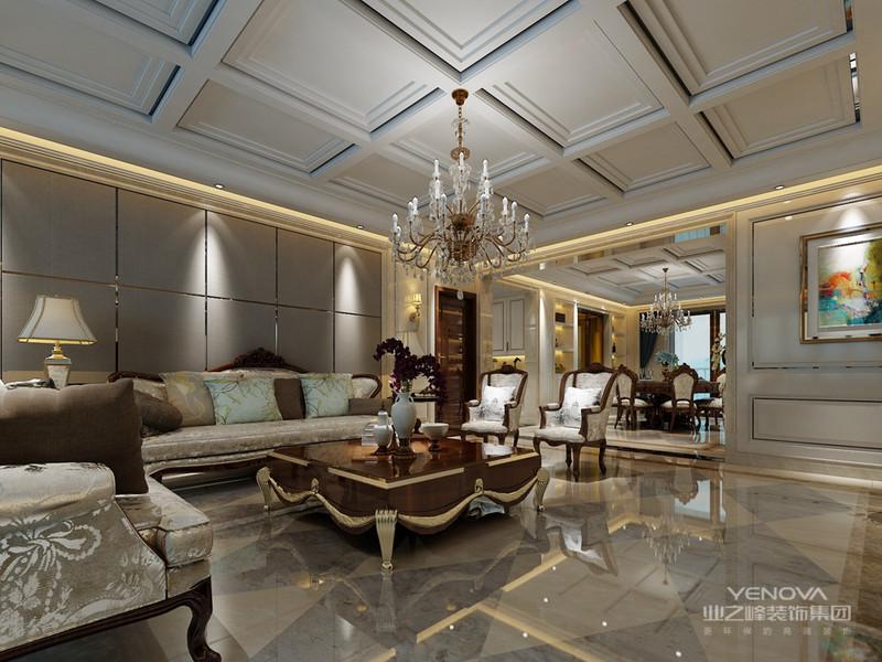 欧式风格延续了古典欧式风格的主元素,将其简约化,并添加了现代化元素,更符合国人审美,因此简约欧式风格是国人比较喜爱的装修风格