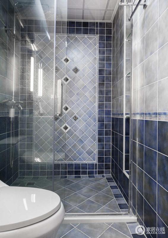 卫生间干湿分离设计,让空间保持整洁干爽。