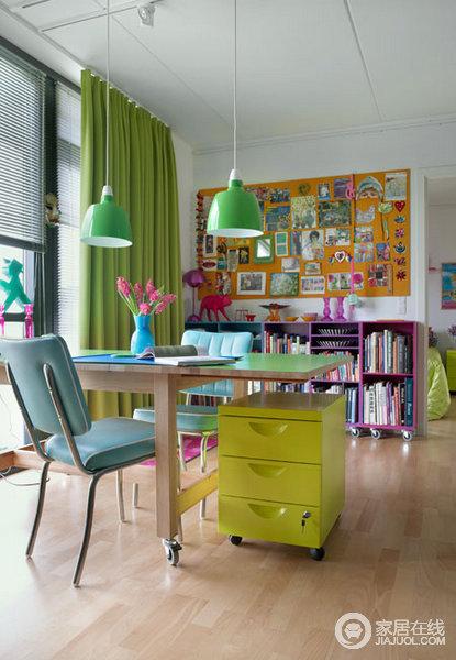16款清新书房设计案例 美美生活拒绝死板