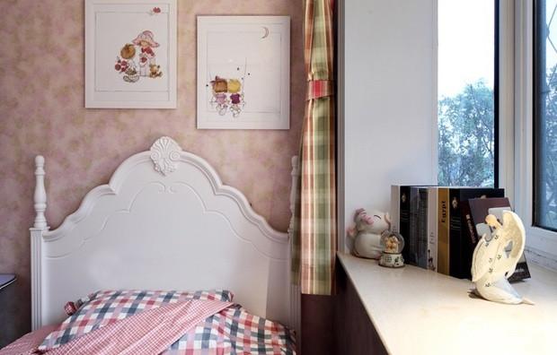 英式田园美家 实木家具与格子布艺装饰