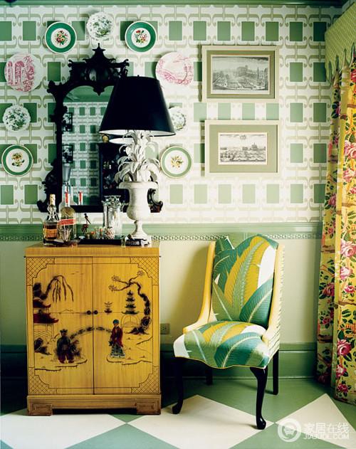 英国乡村风格大改造 图案色彩缤纷亮眼